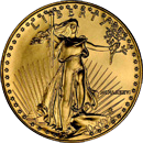 American Gold Eagle Bullion Coin Obverse