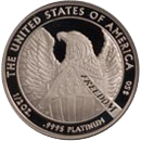 Platinum American Eagle Bullion Coin Reverse