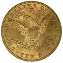 $10 Liberty Gold Coin Reverse