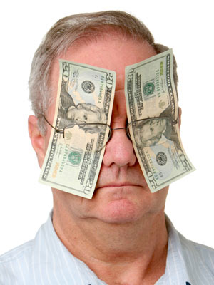 blind money