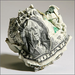 crushed dollar